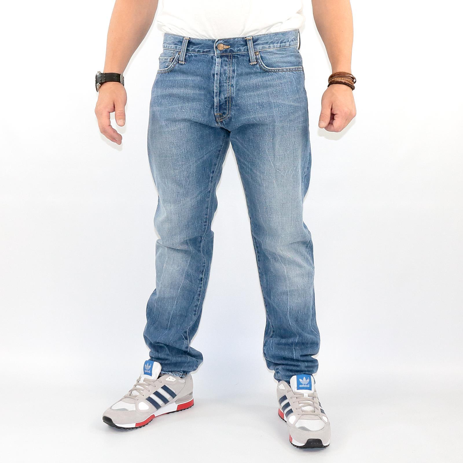carhartt slim pant blue denim jeans herren hose farbe. Black Bedroom Furniture Sets. Home Design Ideas
