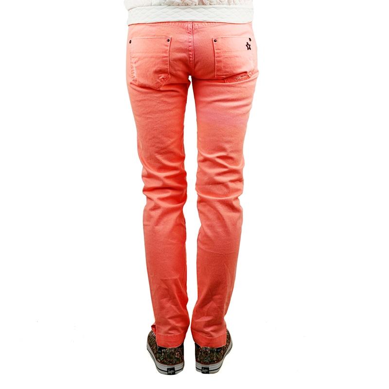 versch Farben Sublevel Denim Schlitz am Saum Stretchjeans Damen Jeans 13932