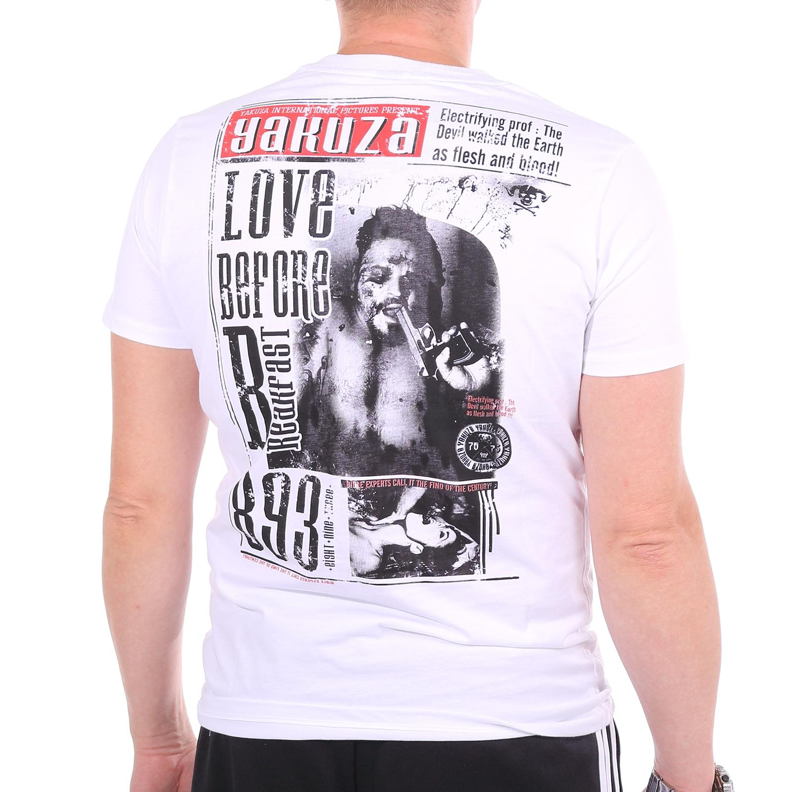 Yakuza Love before breakfast T-Shirt T-Shirt T-Shirt Herren Shirt, versch. Farben, 31854 | Adoptieren  | Feinen Qualität  fbdd18